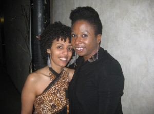 Rehaset Yohannes (left) and Raven Dauda of Rock.paper.sistahz 2012